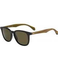 HUGO BOSS Mens boss 0843-s RBG ec sort brun solbriller