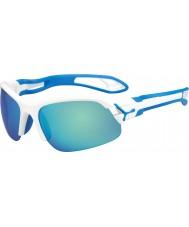 Cebe Cbspring3 s-pring hvidblå solbriller