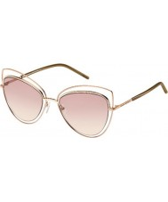 Marc Jacobs Ladies MARC 8-s TXA 05 guld brune solbriller