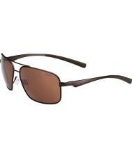 Bolle Brisbane mat brun polariseret a-14 solbriller