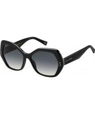 Marc Jacobs Ladies MARC 117-s 807 9o sorte solbriller