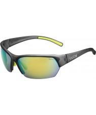 Bolle Ransom satin krystal grå polariseret brune smaragd solbriller