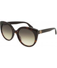 Gucci Ladies gg0325s 002 55 solbriller