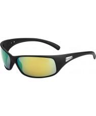 Bolle Rekyl matsort polariserede brune smaragd solbriller
