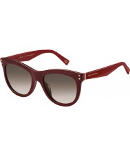Marc Jacobs Ladies MARC 118-s ope k8 bordeaux solbriller