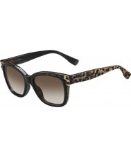 Jimmy Choo Dame bebi-s PUE J6 dyr sorte solbriller