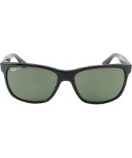RayBan Rb4181 57 highstreet sort 601-9a polariserede solbriller