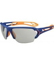 Cebe S-track store mat blå appelsin variochrom PERFO solbriller