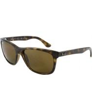RayBan Rb4181 57 highstreet lys skildpaddeskal 710-83 polariserede solbriller