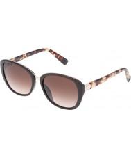 Furla Ladies kollegium su4905r-0d84 skinnende fuldstændige brune solbriller
