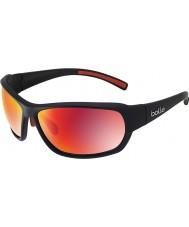 Bolle Bounty mat sort polariseret TNS brand solbriller