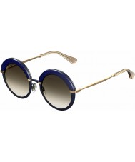 Jimmy Choo Ladies gotha-s 3UE js blå guld solbriller