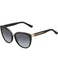 Jimmy Choo Ladies dana-s 10e hd sorte solbriller