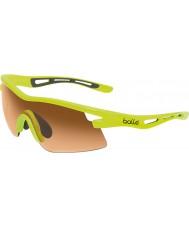 Bolle Vortex neon gul modulator rav solbriller