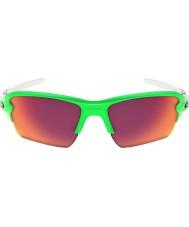 Oakley Oo9188-43 flak 2,0 xl grøn fade - Prizm felt solbriller