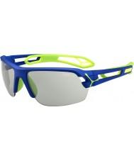Cebe S-track medium mørkeblå grøn variochrom PERFO solbriller