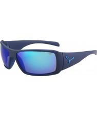 Cebe Utopy mat blå 1500 grå flash spejl blå solbriller