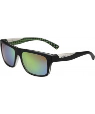 Bolle Clint mat sort kalk polariseret brune smaragd solbriller