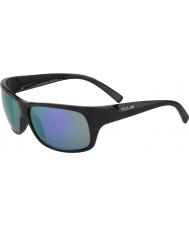 Bolle Viper mat sort blå-violette solbriller