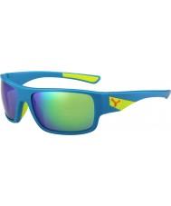 Cebe Whisper mat blå lime 1500 grå flash spejl grønne solbriller