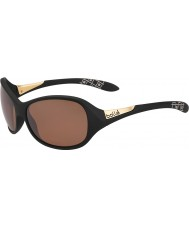 Bolle Grace mat sort polariseret sandsten pistol solbriller