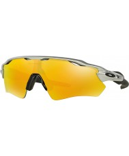 Oakley Oo9208-02 radar ev path sølv - brand iridium solbriller