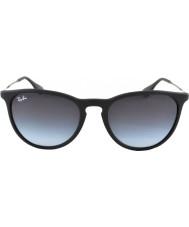 RayBan Rb4171 54 erika gummi sort 622-8g solbriller