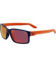 Cebe Dude skinnende blå appelsin solbriller
