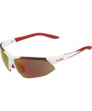 Bolle Breakaway skinnende hvid appelsin TNS brand solbriller