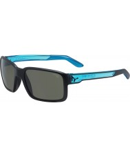 Cebe Dude mat sorte krystal blå solbriller