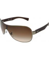 RayBan Rb3471 32 ung mat rødgods 029-13 solbriller