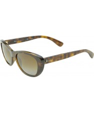 RayBan Rb4227 55 highstreet lys havana 710-T5 polariserede solbriller