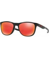 Oakley Oo9340-02 trillbe x poleret sort - rubin iridium solbriller