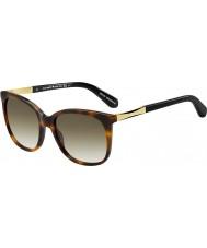 Kate Spade New York Ladies Julieanna-s crx cc mørk havana guld solbriller