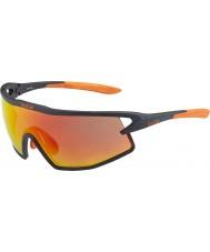 Bolle B-rock-mat sort og orange TNS brand solbriller