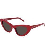 Saint Laurent Ladies sl 213 lily 004 52 solbriller