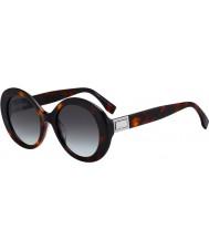 Fendi Ladies ff0293 s 086 ib 52 solbriller