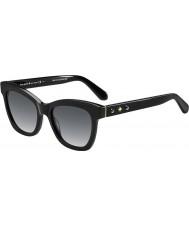 Kate Spade New York Ladies Krissy-s 807 F8 sorte solbriller
