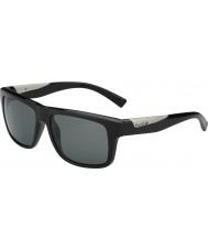 Bolle Clint skinnende sort polariseret TNS-solbriller