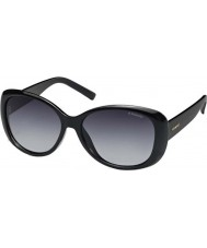 Polaroid Pld4014-s D28 wj skinnende sorte polariserede solbriller