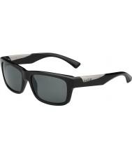 Bolle Jude skinnende sort polariseret TNS-solbriller