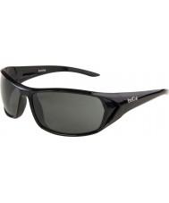 Bolle Blacktail skinnende sort TNS-solbriller