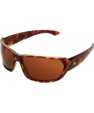 Cebe Trekker skinnende skildpaddeskal 1500 brune solbriller