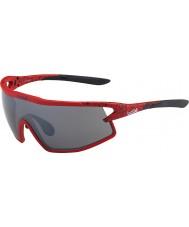 Bolle B-rock-mat rød og sort TNS pistol solbriller