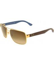 RayBan Rb3530 58 highstreet guld 001-13 gradient solbriller