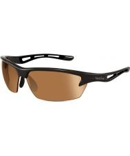 Bolle Bolt skinnende sort modulator v3 golf solbriller