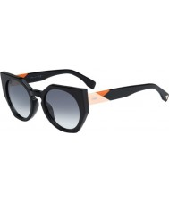 Fendi Facetter ff 0151-s 807 jj sorte solbriller