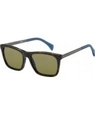 Tommy Hilfiger Mens th 1435-s 0EX A6 mørke havana ruthenium solbriller
