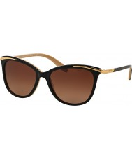 Ralph Ra5203 54 unge sorte nude 1090t5 polariseret solbriller